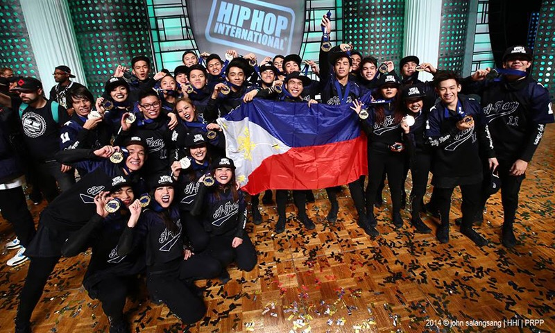 Philippine Teams win big in the 2015 World Hip Hop Dance
