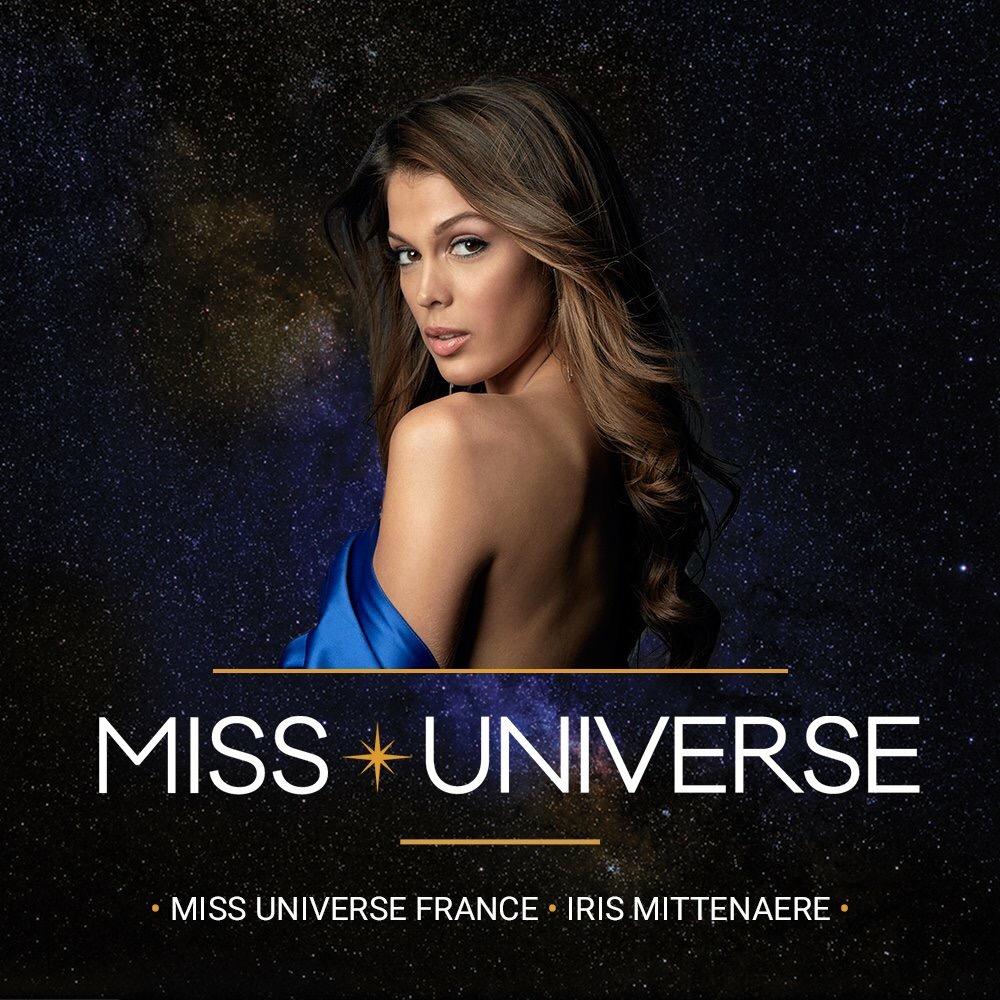 Miss france iris mittenaere is the new miss universe - Miss univers iris mittenaere ...